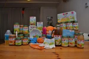 HIPP inhoud pakket babyvoeding biologisch potjes