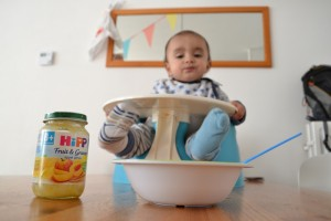 Fruithapje HIPP babyeten potje biologisch
