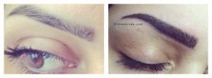 semi permanente make-up pmu hairstrokes amsterdam gimme brows behandeling treatment eyebrow