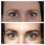 voor en na wenkbrauw behandeling amsterdam gimme brows