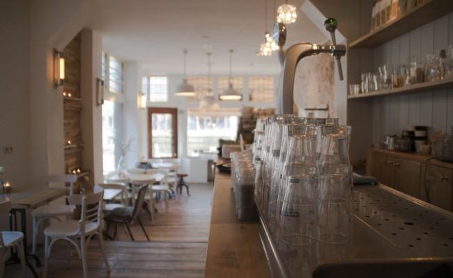 Interieur café Roos – Leiden