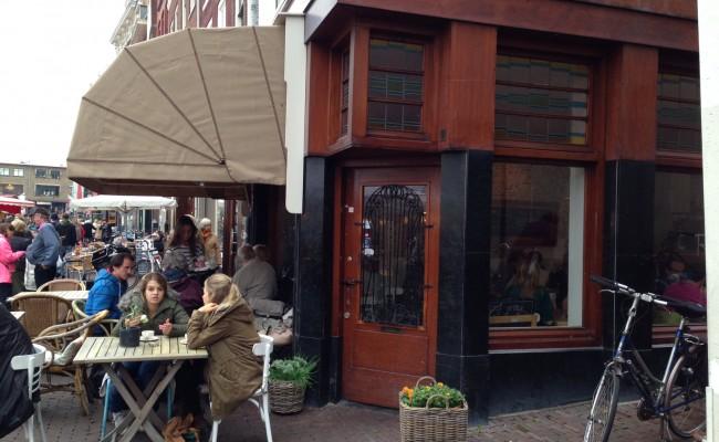 Voorkant café Roos – Leiden
