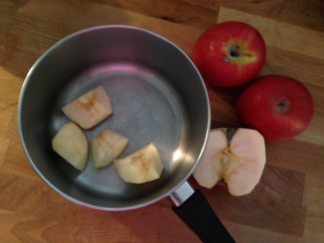 Appel in de pan 1