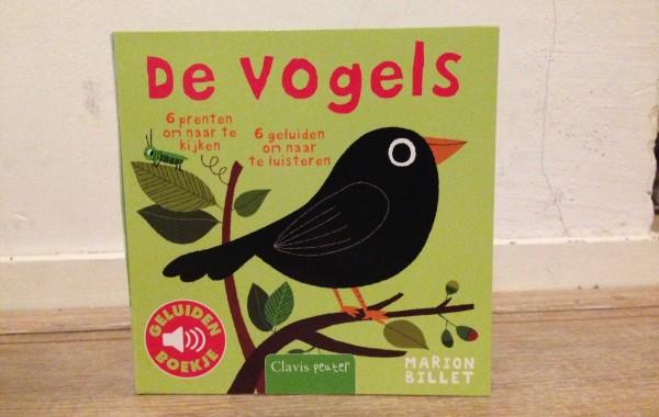 De Vogels – prentenboek met geluiden!