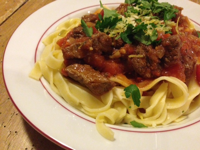 Italiaans stoofvlees recept