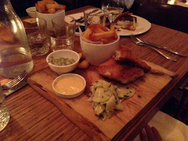 Société Wunderbar Fish en chips