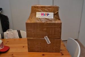 HIPP inhoud pakket postpakket proefpakket