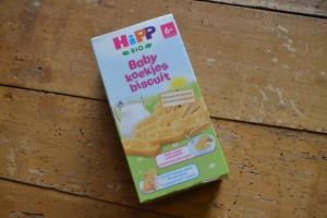 HIPP babykoekjes 6 maanden pap