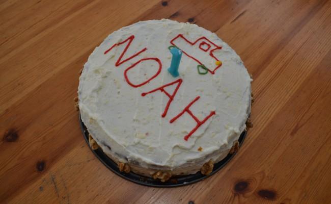 verjaardagstaart worteltjestaart feest 5