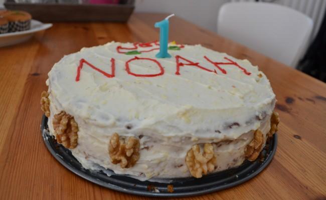 verjaardagstaart worteltjestaart feest 4