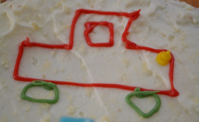 verjaardagstaart worteltjestaart feest auto