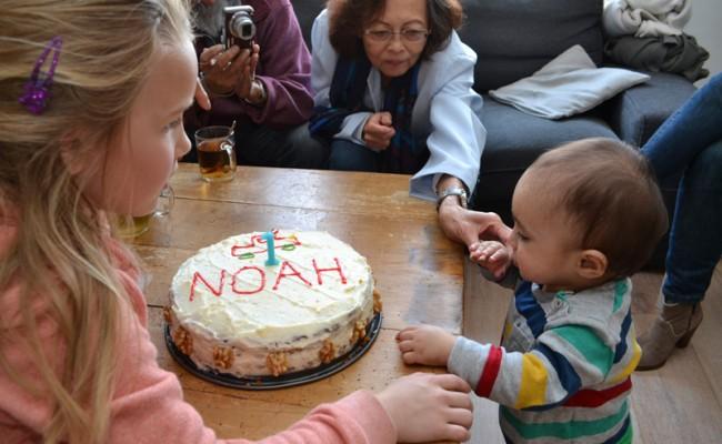verjaardagstaart worteltjestaart feest 1