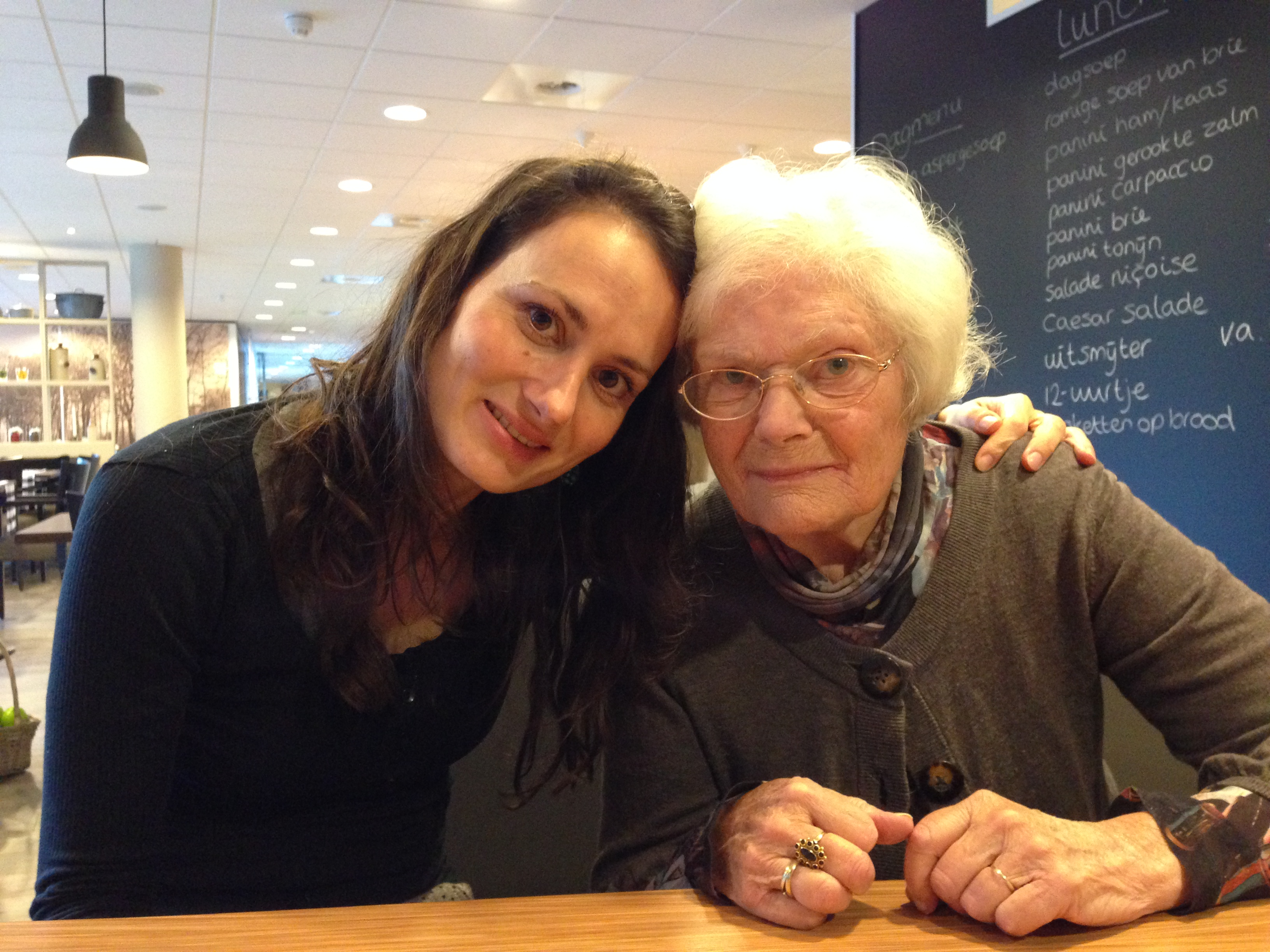ik en mijn moeder