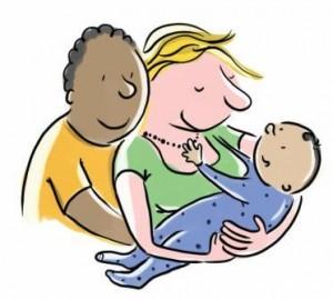 vader-moeder-bebi-300x270 bebiboek illustratie Suus van den Akker