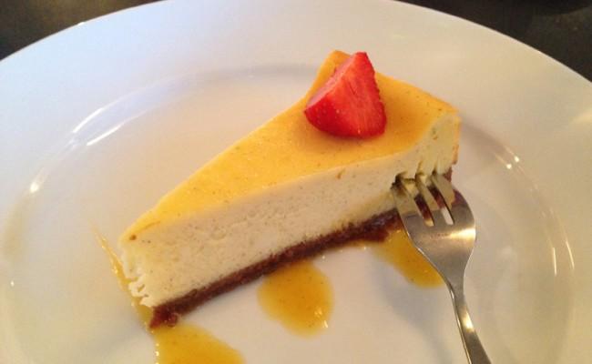 toetje cheesecake