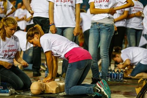 hartstichting sandro silva petitie wereldrecord actie reanimatie