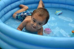 zwembad opblaasbad