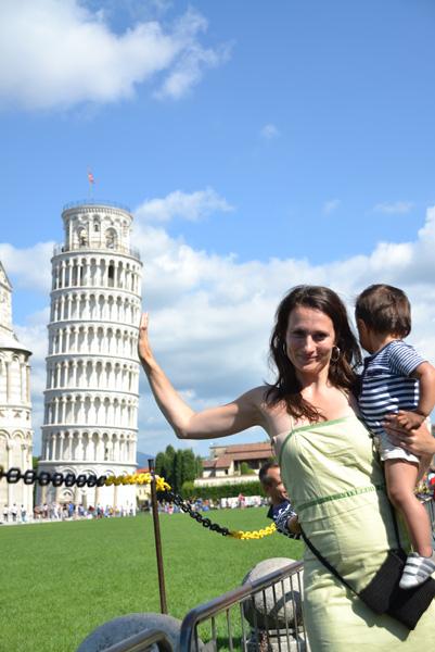 Pisa toren tegenhouden