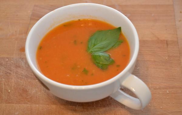 Tomatensoep voor het hele gezin