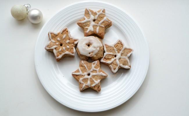 kerst koekjes met glazuur