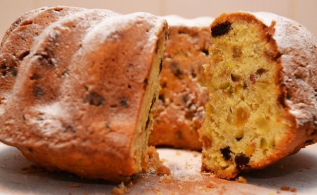 tulband feestelijke cake