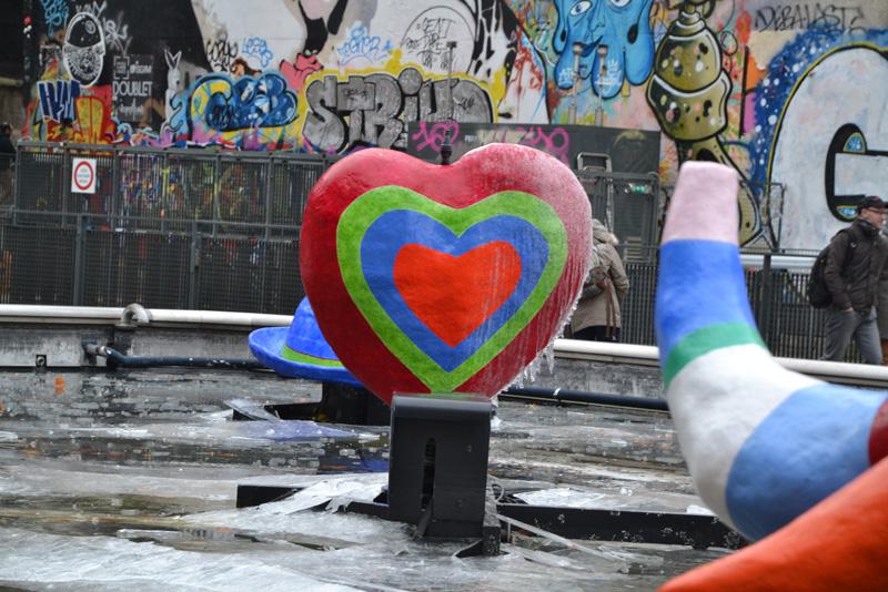 Parijs hart Centre Pompidou