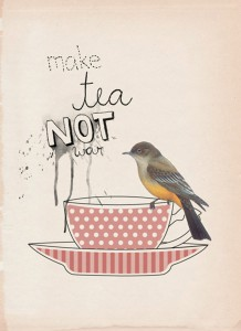 make tea not war alice in wonderland