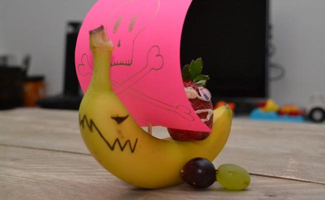 bananen piratenboot traktatie
