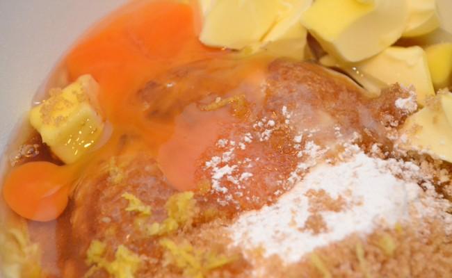 ingrediënten appeltaart spijs abrikozenjam custardpoeder