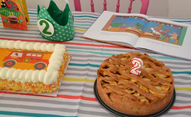 feest appeltaart verjaardag zelf gemaakt