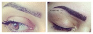 semi permanente make-up pmu hairstrokes amsterdam gimme brows behandeling treatment eyebrow