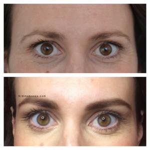 voor en na wenkbrauw behandeling amsterdam gimme brows HD Brows wenkbrauwspecialist