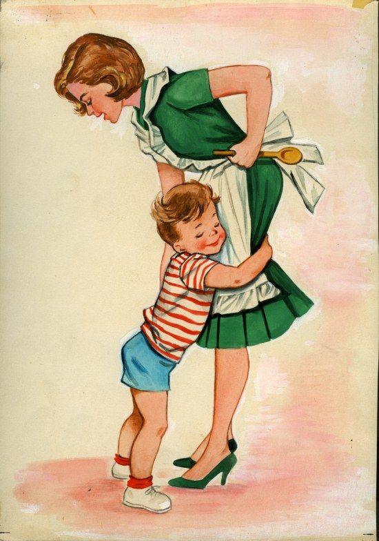 knuffel mama kind liefde