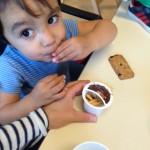 chocolade kind ziekenhuis