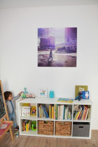 kinderkamer winactie foto op aluminium