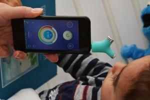wishbone smart thermometer winactie temperatuur contactloos opmeten opnemen