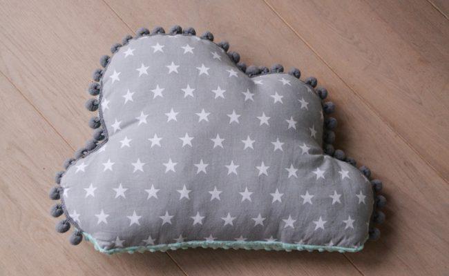 decoratief kussen babykamer