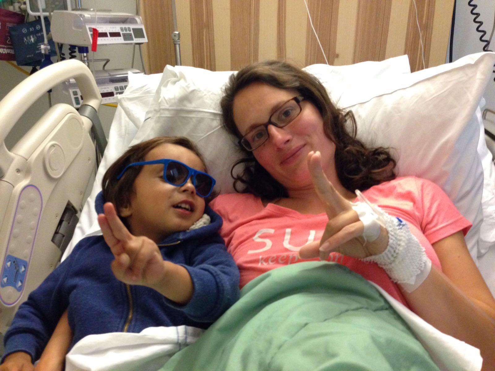 ziekenhuisopname dreigende vroeggeboorte 32 weken weeënactiviteit spontane weeën