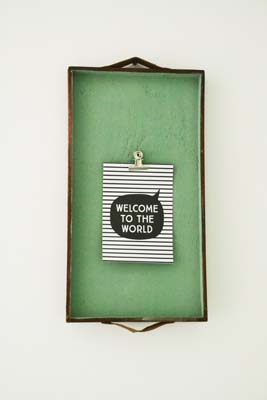 goedkope babykamer tips wanddecoratie milestone cards baby zeeman