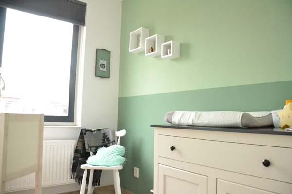 Goedkope Babykamer groen goedkoop kinderkamer
