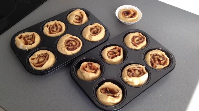 afbakken cinnamon rolls
