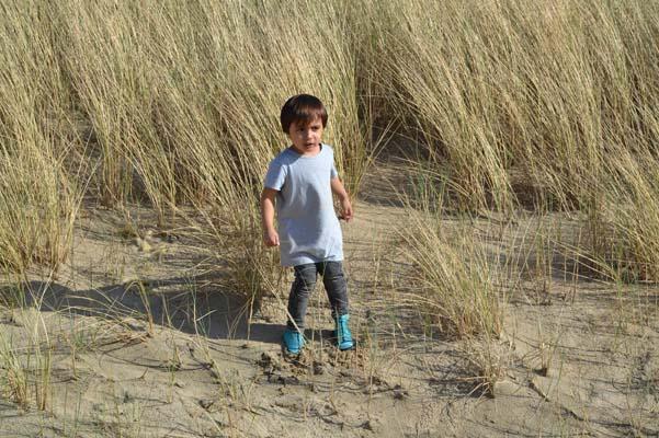 Duukies Beachsocks winnen kind bescherming heet zand