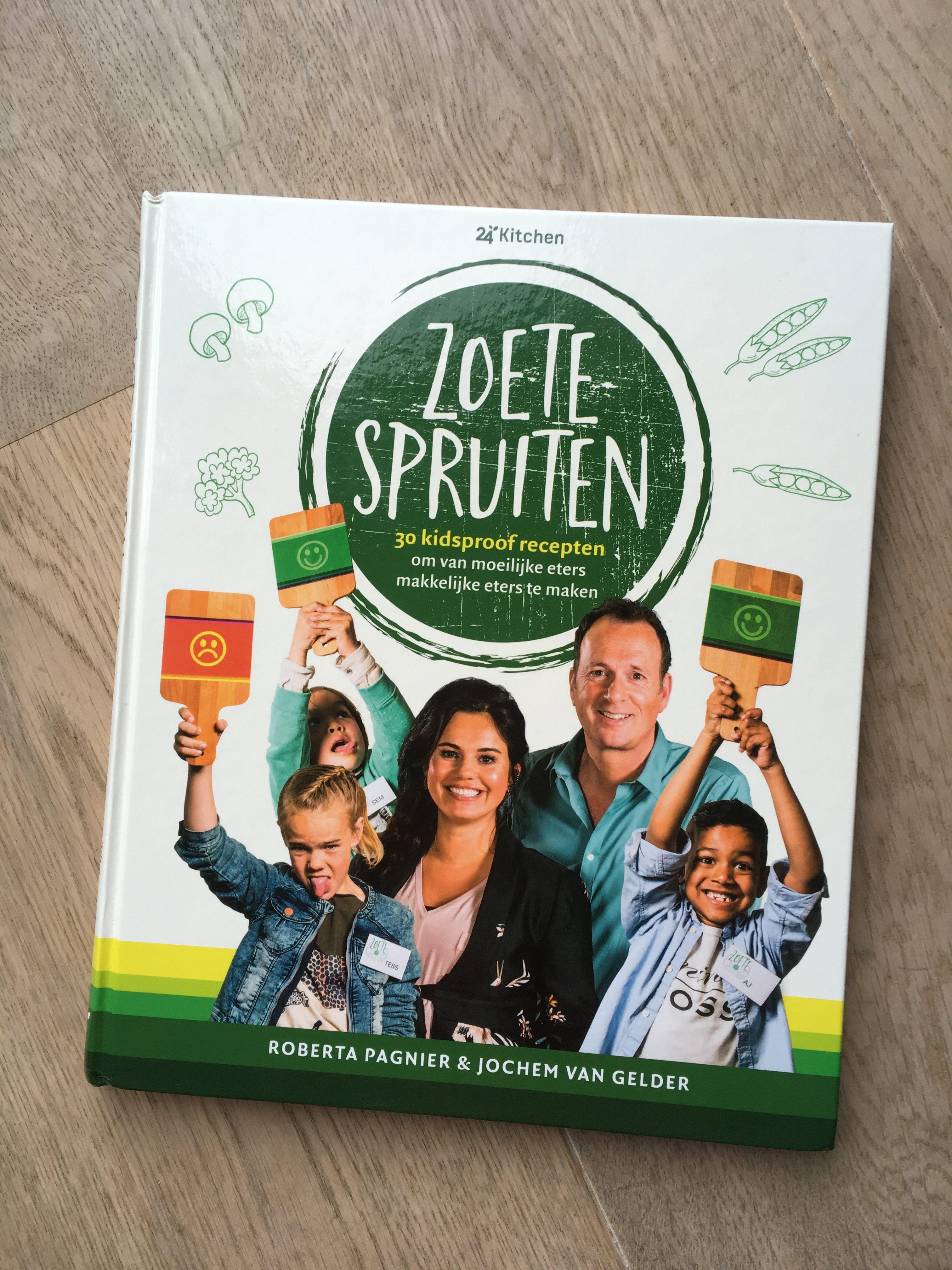 Zoete spruiten kinderkookboek 24Kitchen recensie