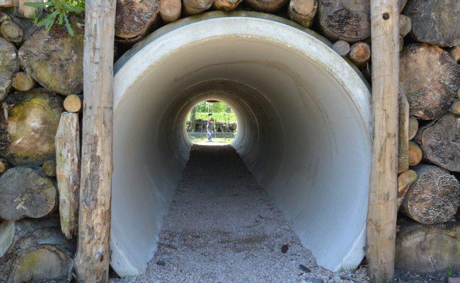 tunnel natuurspeeltuin voorschoten