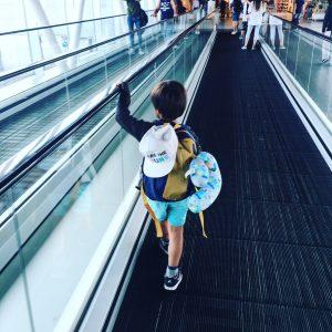 Bali met kinderen vliegveld schiphol