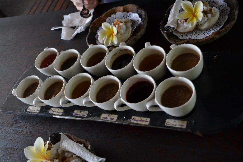 gunung batur koffie thee fietstocht fietsen ubud