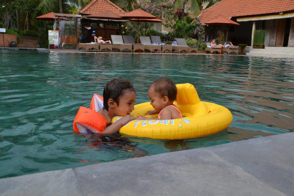 ubud met kinderen zwemmen greenfields